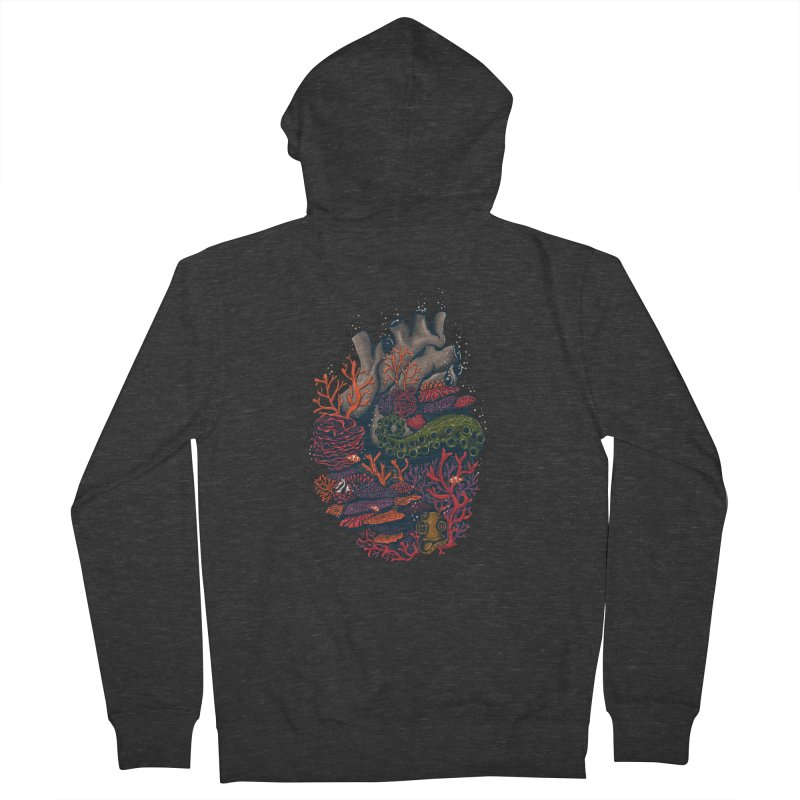 heart of the sea Women's Zip-Up Hoody by itssummer85's Artist Shop