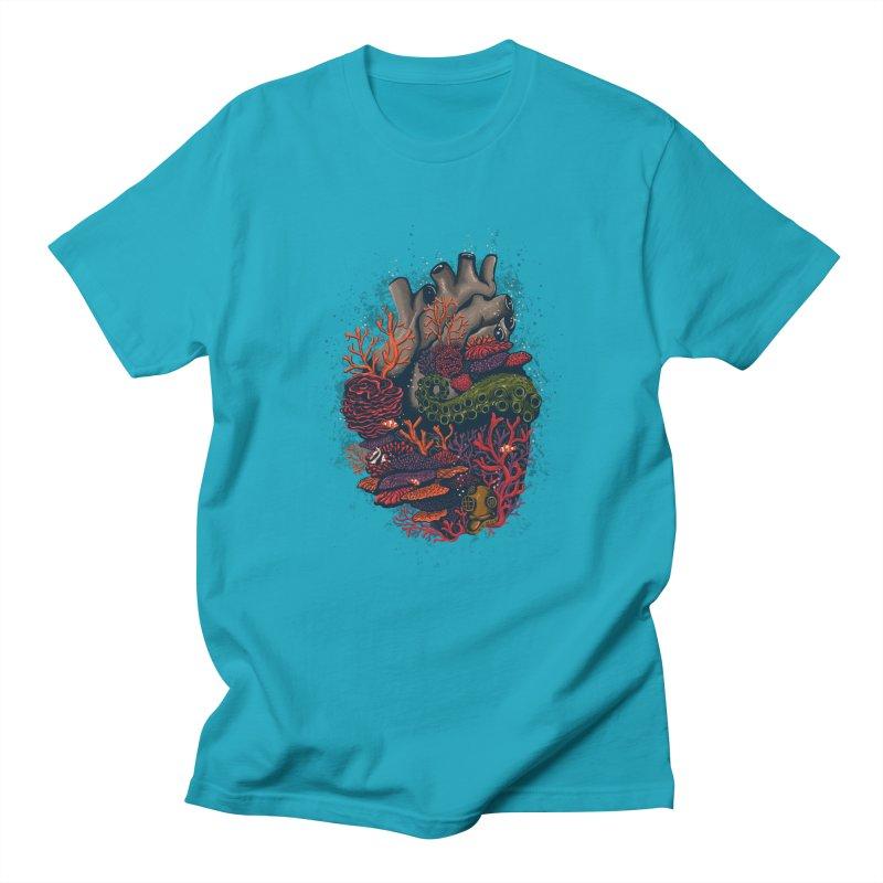 heart of the sea Men's T-shirt by itssummer85's Artist Shop