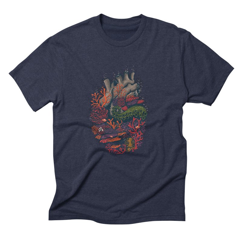 heart of the sea Men's Triblend T-Shirt by itssummer85's Artist Shop