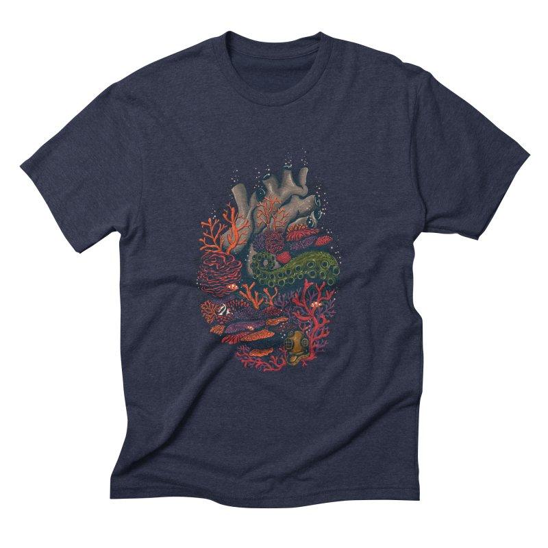 heart of the sea Men's Triblend T-shirt by itssummer85's Artist Shop