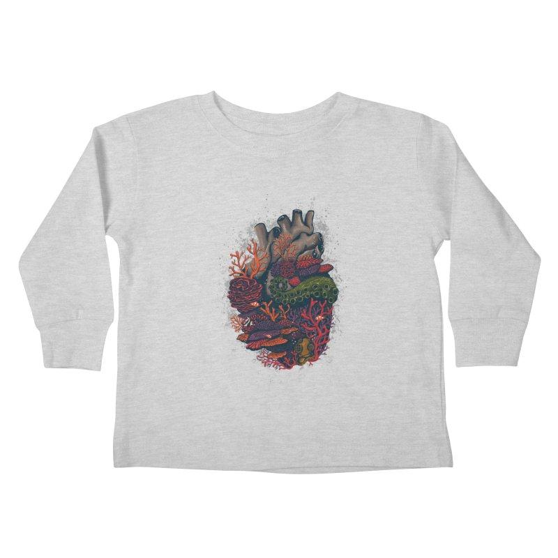 heart of the sea Kids Toddler Longsleeve T-Shirt by itssummer85's Artist Shop