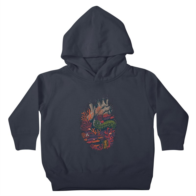 heart of the sea Kids Toddler Pullover Hoody by itssummer85's Artist Shop