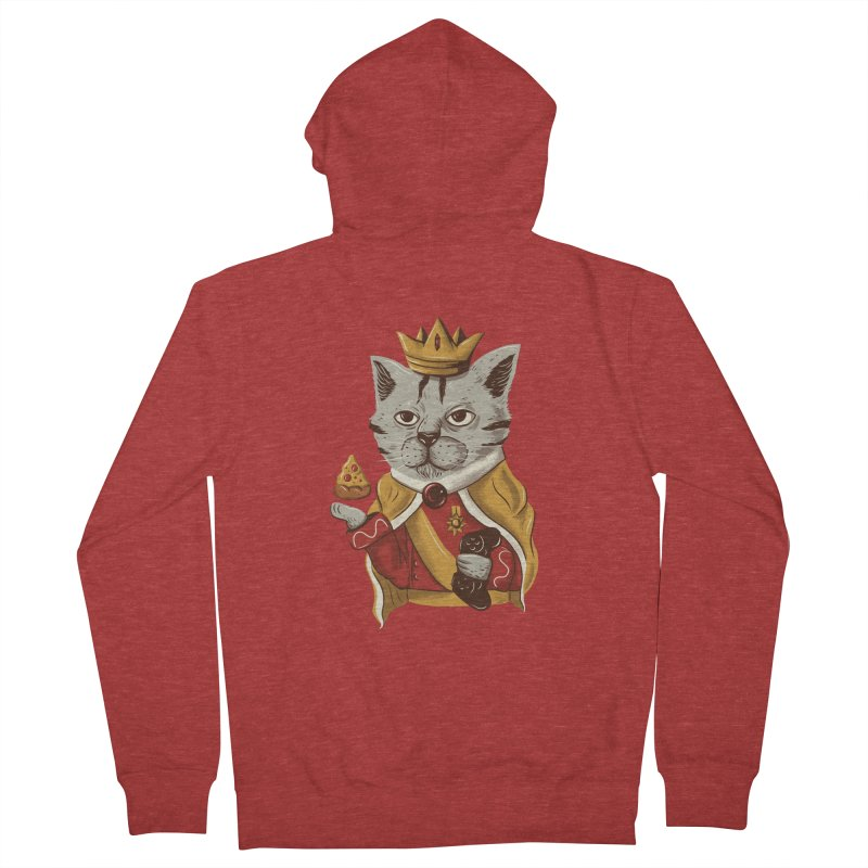 lord cat the great Men's Zip-Up Hoody by itssummer85's Artist Shop