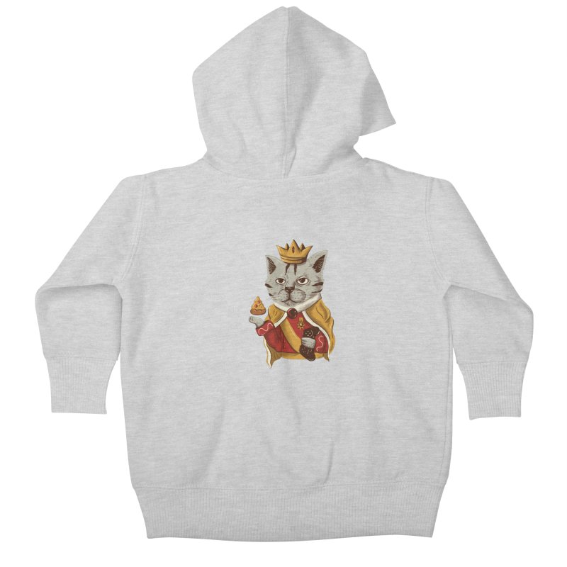 lord cat the great Kids Baby Zip-Up Hoody by itssummer85's Artist Shop
