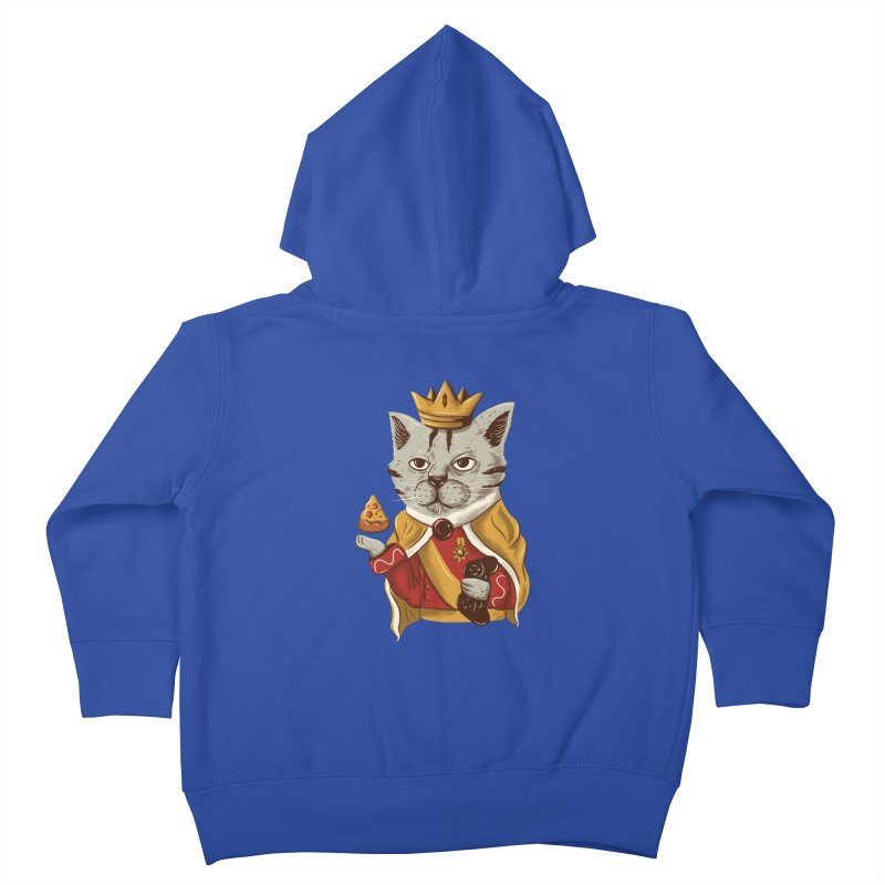 lord cat the great Kids Toddler Zip-Up Hoody by itssummer85's Artist Shop