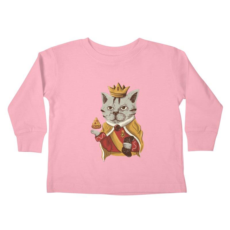 lord cat the great Kids Toddler Longsleeve T-Shirt by itssummer85's Artist Shop