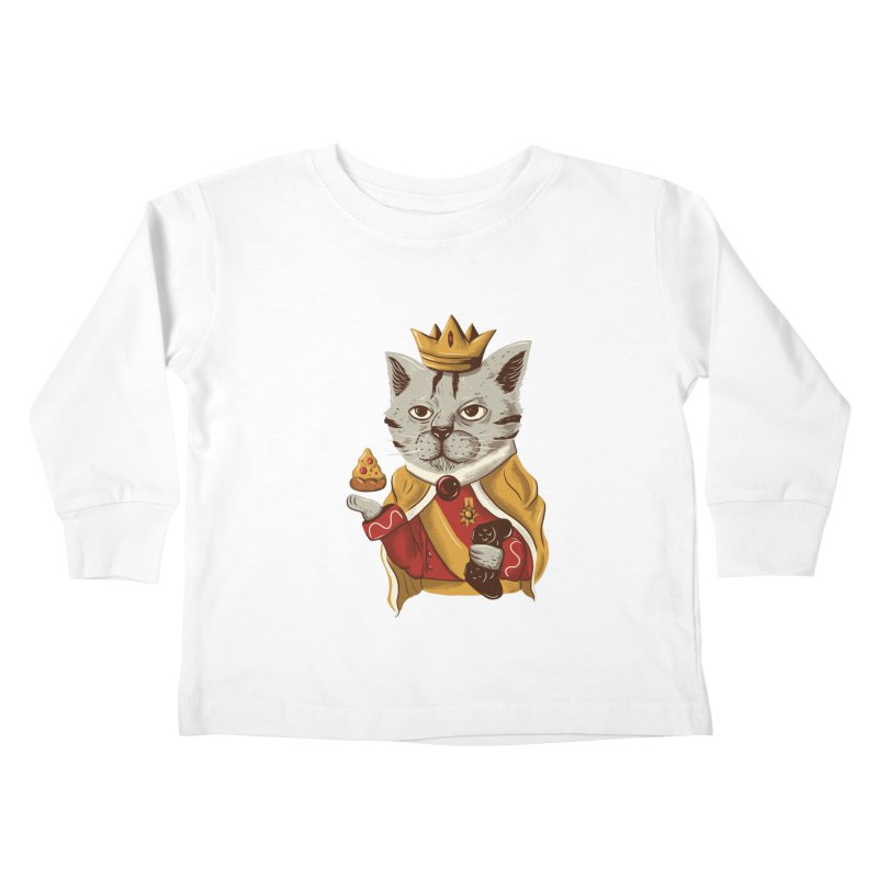 lord cat the great Kids Toddler Longsleeve T-Shirt by itssummer85's Artist Shop