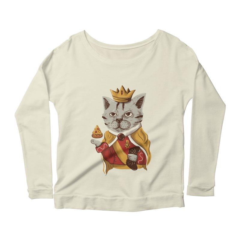 lord cat the great Women's Longsleeve Scoopneck  by itssummer85's Artist Shop