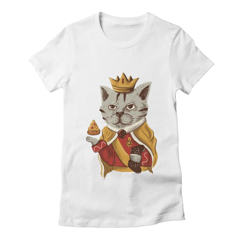 lord cat the great Women's Fitted T-Shirt by itssummer85's Artist Shop