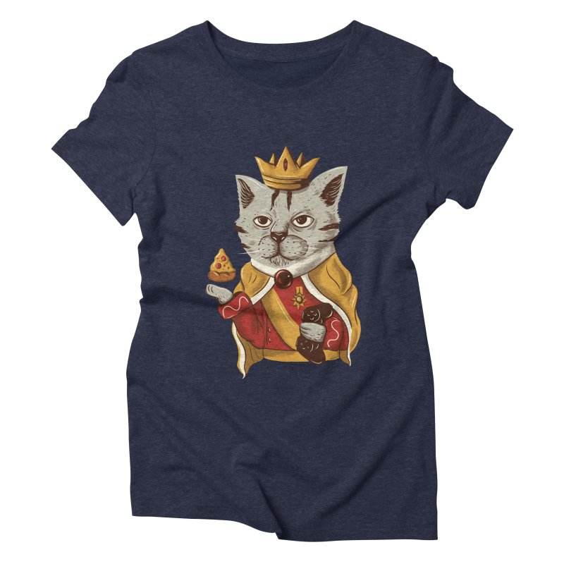 lord cat the great Women's Triblend T-shirt by itssummer85's Artist Shop