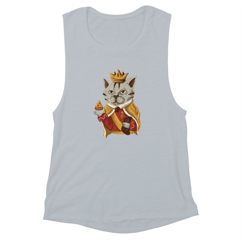 lord cat the great Women's Muscle Tank by itssummer85's Artist Shop