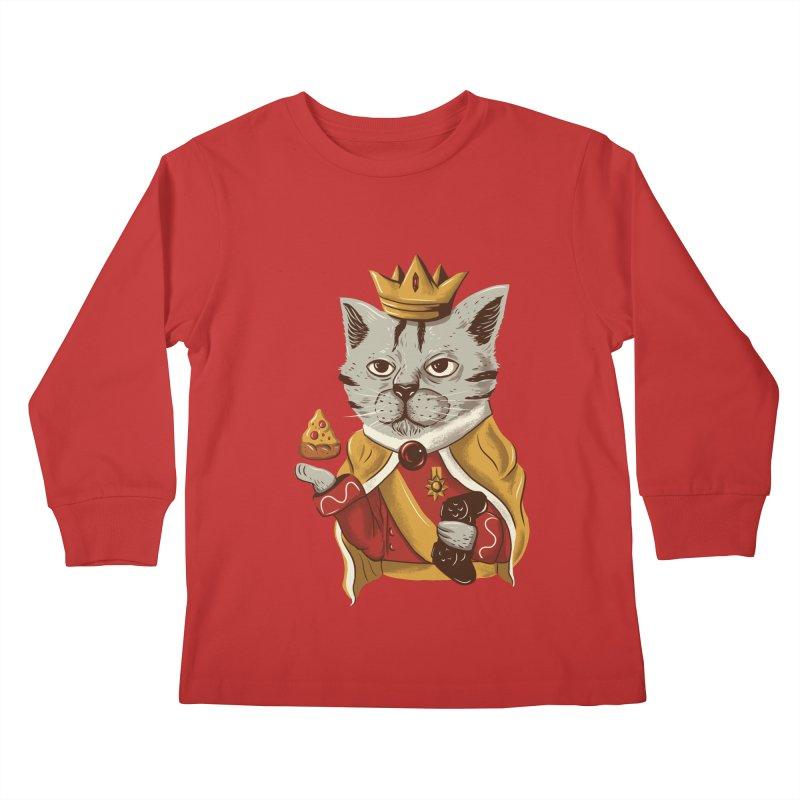lord cat the great Kids Longsleeve T-Shirt by itssummer85's Artist Shop