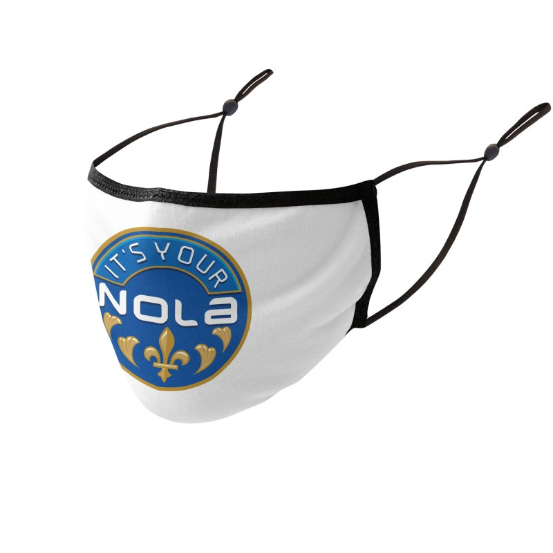 The Official #ItsYourNOLA Facemask! Accessories Face Mask by #ItsYourNOLA Threadless Shop