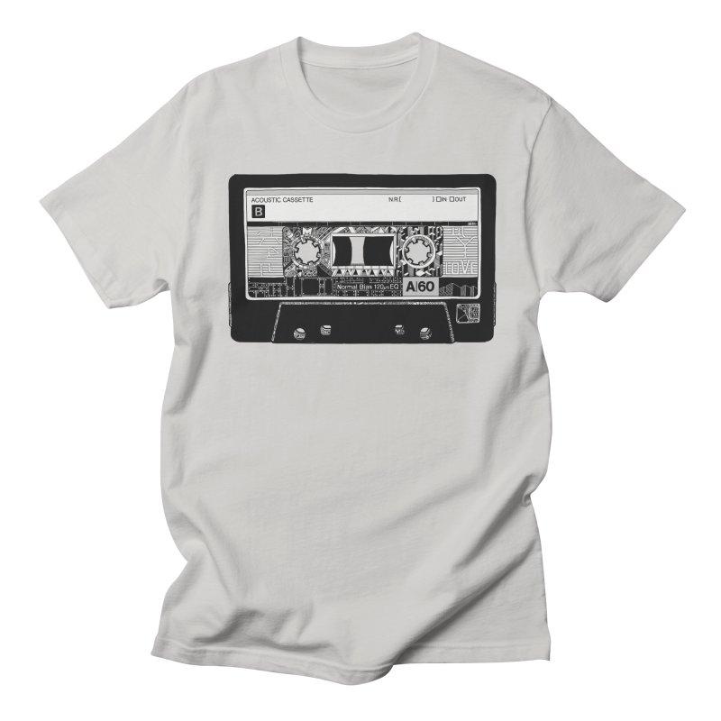 Lado B Men's Regular T-Shirt by IVAN CASIS APPAREL SHOP