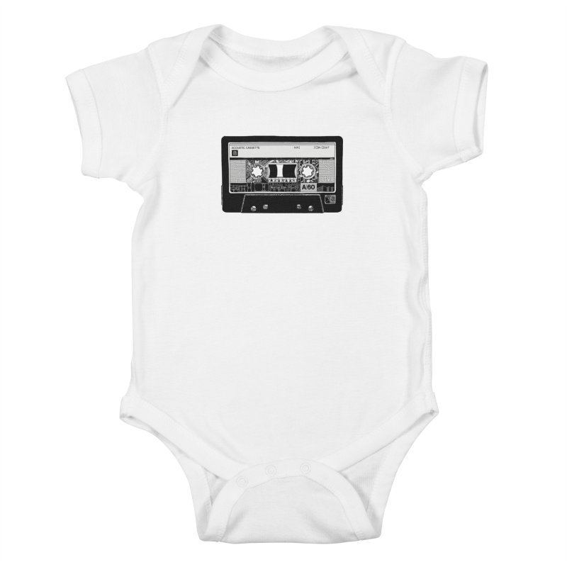 Lado B Kids Baby Bodysuit by IVAN CASIS APPAREL SHOP