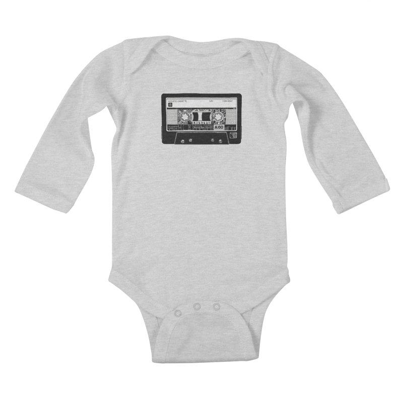 Lado B Kids Baby Longsleeve Bodysuit by IVAN CASIS APPAREL SHOP