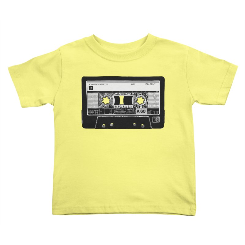 Lado B Kids Toddler T-Shirt by IVAN CASIS APPAREL SHOP