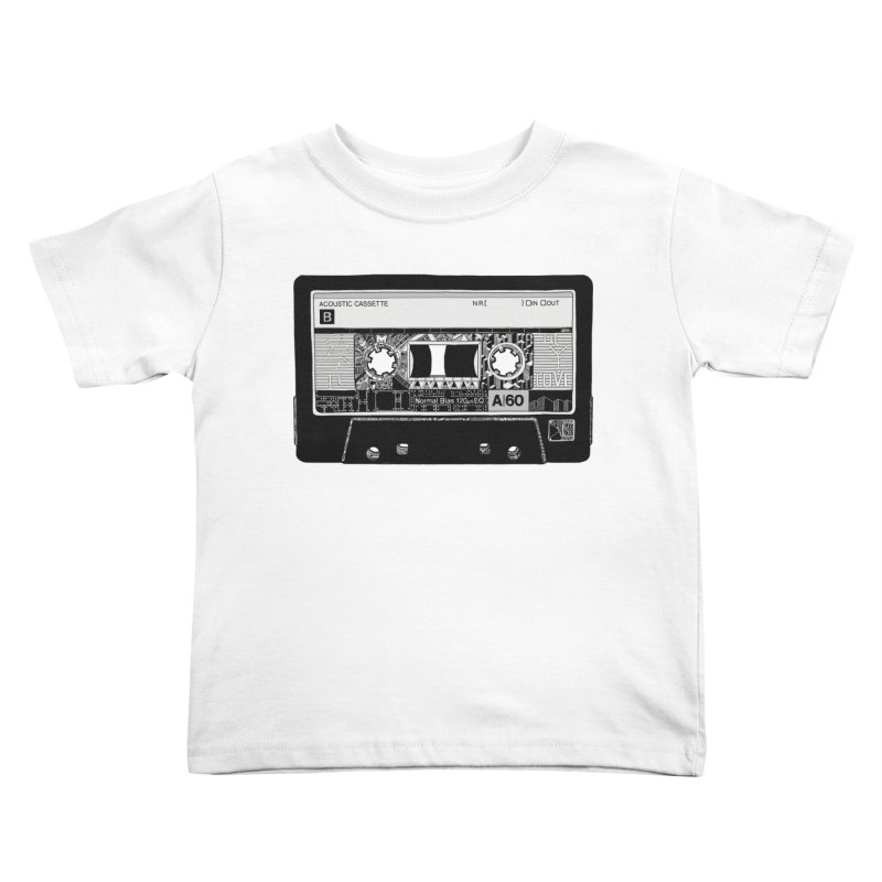Lado B Kids Toddler T-Shirt by IVAN CASIS APPAREL SHOP