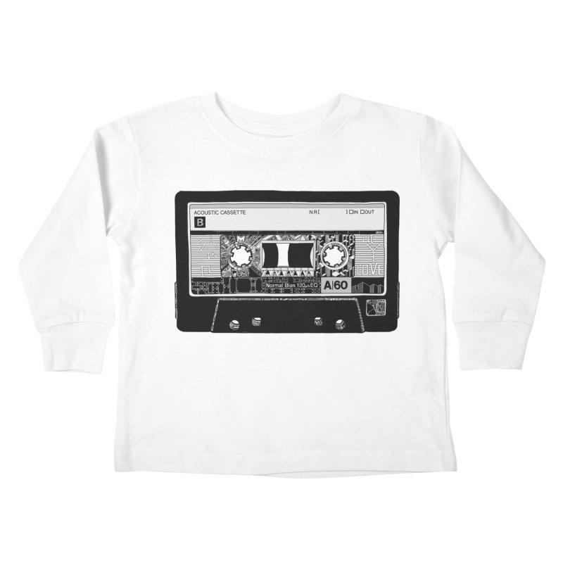Lado B Kids Toddler Longsleeve T-Shirt by IVAN CASIS APPAREL SHOP