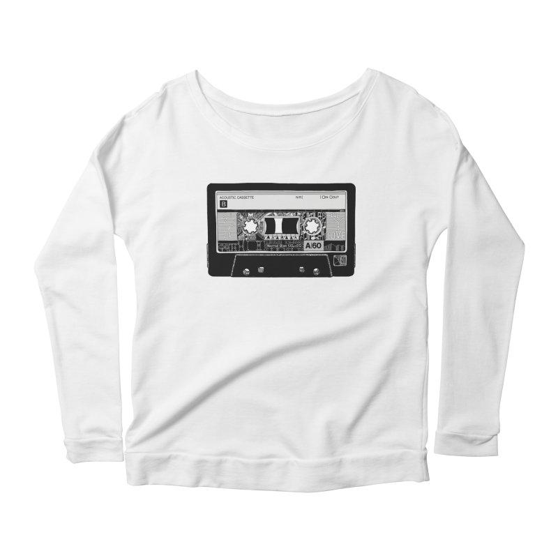 Lado B Women's Scoop Neck Longsleeve T-Shirt by IVAN CASIS APPAREL SHOP