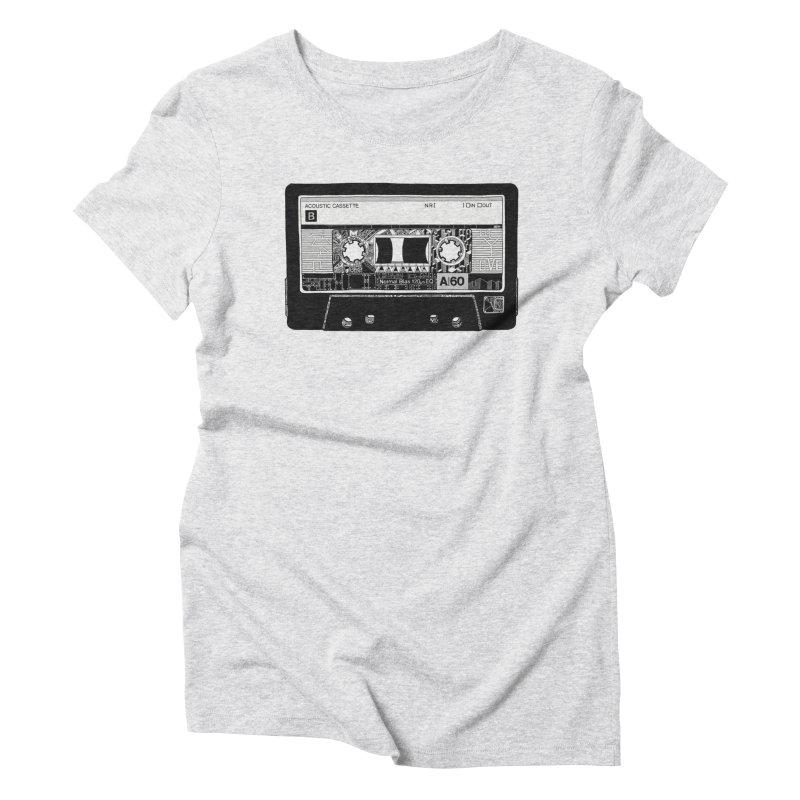 Lado B Women's Triblend T-shirt by IVAN CASIS APPAREL SHOP