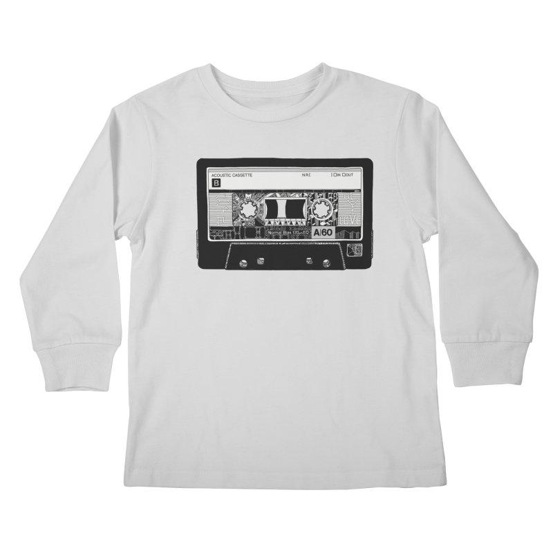 Lado B Kids Longsleeve T-Shirt by IVAN CASIS APPAREL SHOP
