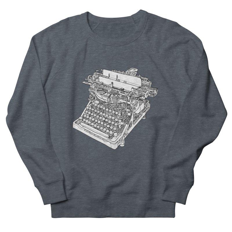 Retrype Women's French Terry Sweatshirt by IVAN CASIS APPAREL SHOP