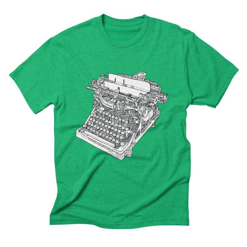 Retrype Men's Triblend T-Shirt by IVAN CASIS APPAREL SHOP