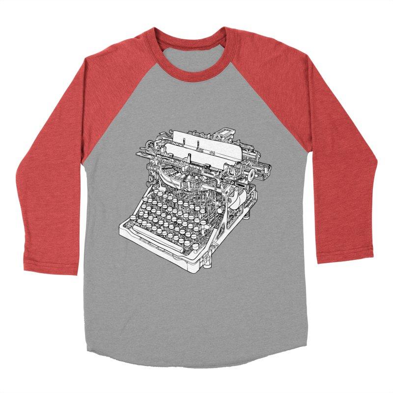 Retrype Men's Baseball Triblend Longsleeve T-Shirt by IVAN CASIS APPAREL SHOP