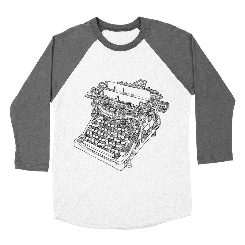 Retrype Men's Baseball Triblend T-Shirt by IVAN CASIS APPAREL SHOP