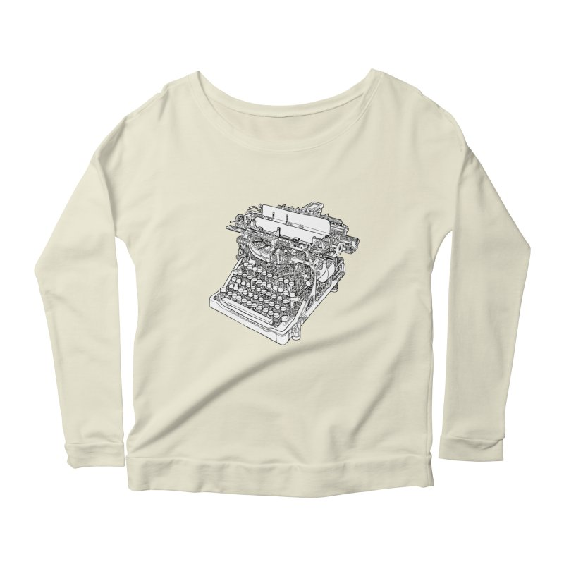 Retrype Women's Scoop Neck Longsleeve T-Shirt by IVAN CASIS APPAREL SHOP