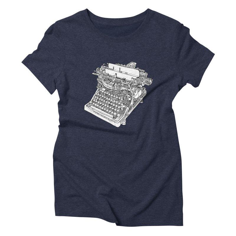 Retrype Women's Triblend T-Shirt by IVAN CASIS APPAREL SHOP