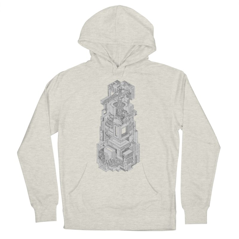 Deconstruction  Men's Pullover Hoody by IVAN CASIS APPAREL SHOP