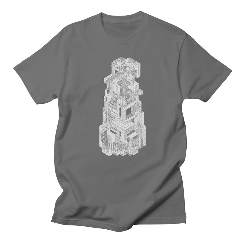Deconstruction  Men's T-Shirt by IVAN CASIS APPAREL SHOP