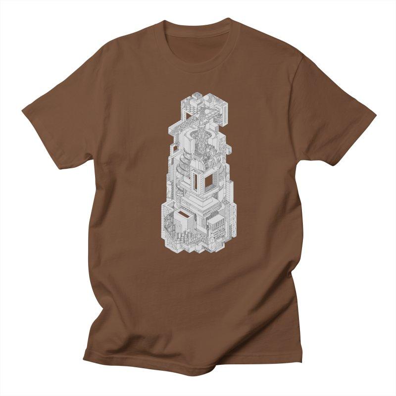 Deconstruction  Men's T-Shirt by IVAN CASIS APPAREL SHOP