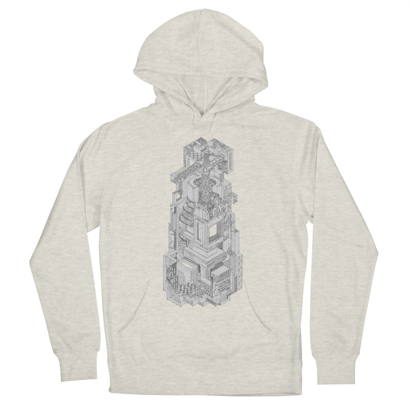 Deconstruction  Women's Pullover Hoody by IVAN CASIS APPAREL SHOP