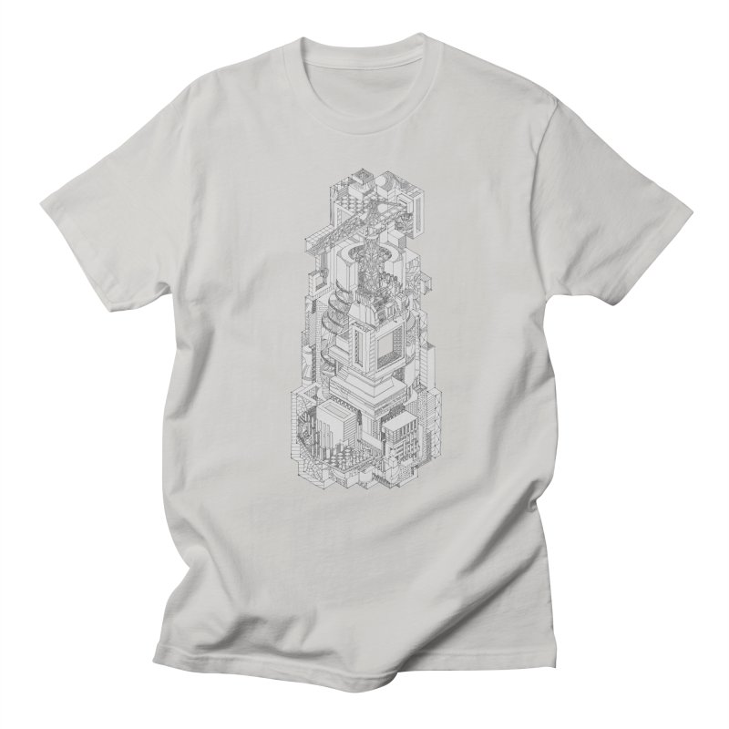 Deconstruction  Men's Regular T-Shirt by IVAN CASIS APPAREL SHOP