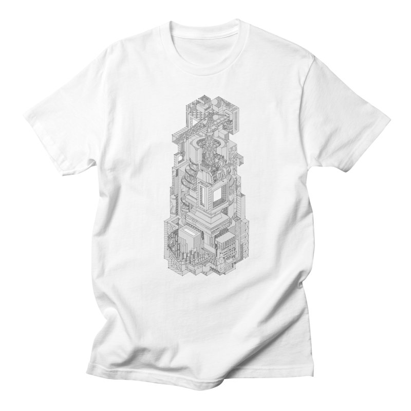 Deconstruction  Men's Regular T-Shirt by IVAN CASIS APPAREL SHOP