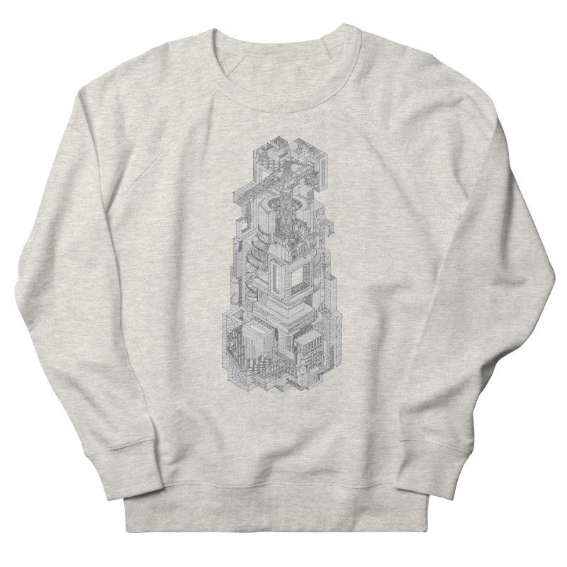Deconstruction  Women's Sweatshirt by IVAN CASIS APPAREL SHOP