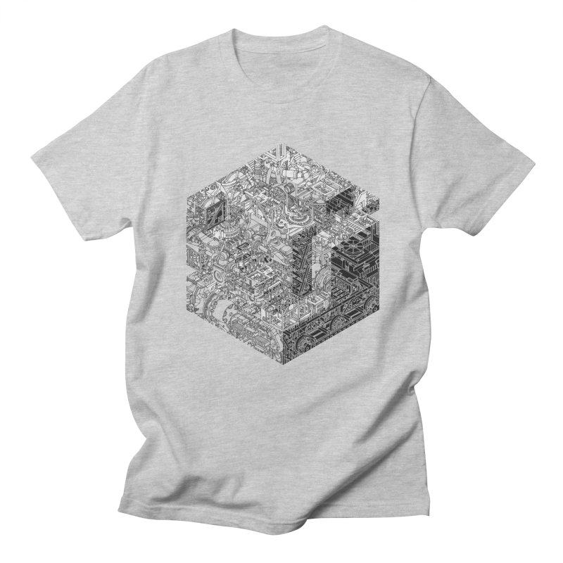 Mechanical Salad Men's T-Shirt by IVAN CASIS APPAREL SHOP