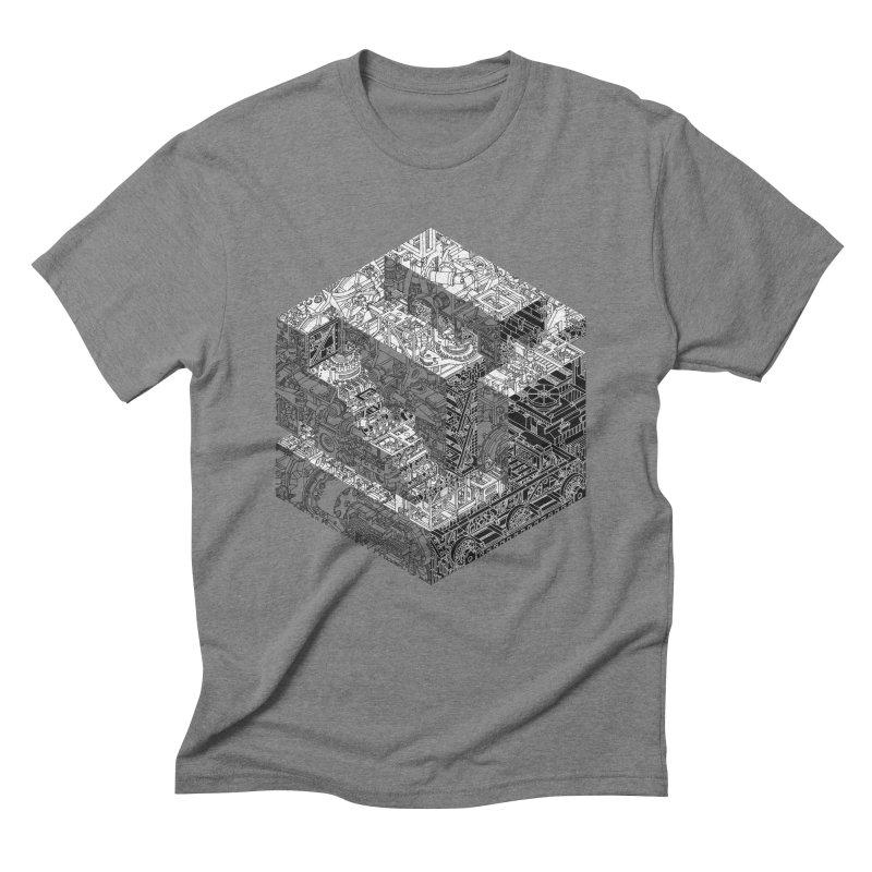 Mechanical Salad Men's Triblend T-Shirt by IVAN CASIS APPAREL SHOP