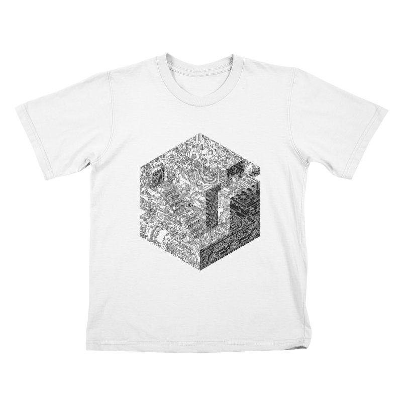 Mechanical Salad Kids T-Shirt by IVAN CASIS APPAREL SHOP