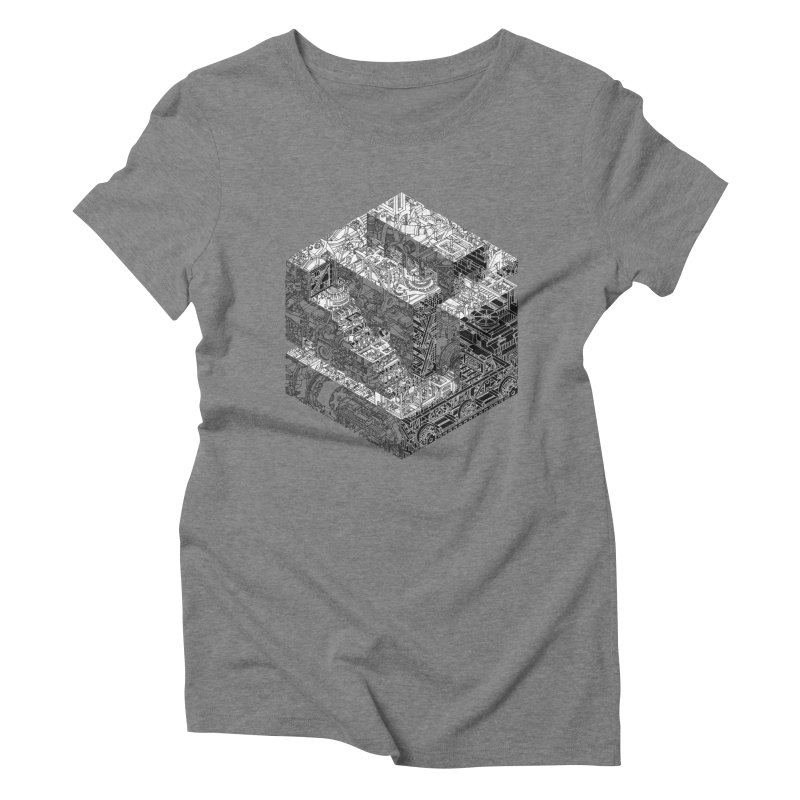 Mechanical Salad Women's Triblend T-shirt by IVAN CASIS APPAREL SHOP
