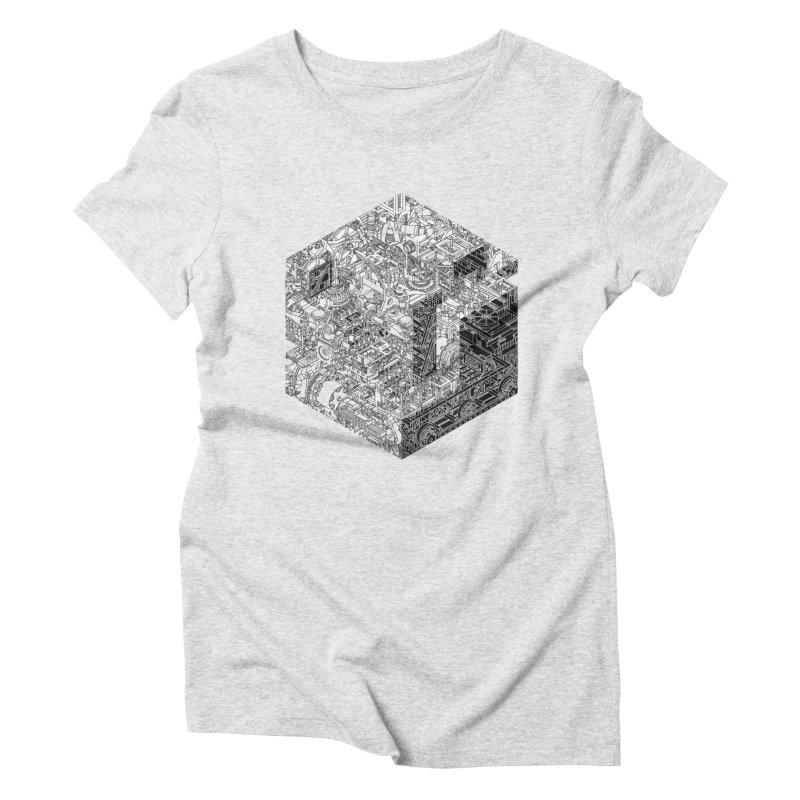 Mechanical Salad Women's Triblend T-Shirt by IVAN CASIS APPAREL SHOP