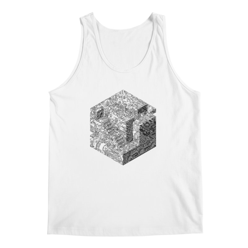 Mechanical Salad Men's Tank by IVAN CASIS APPAREL SHOP