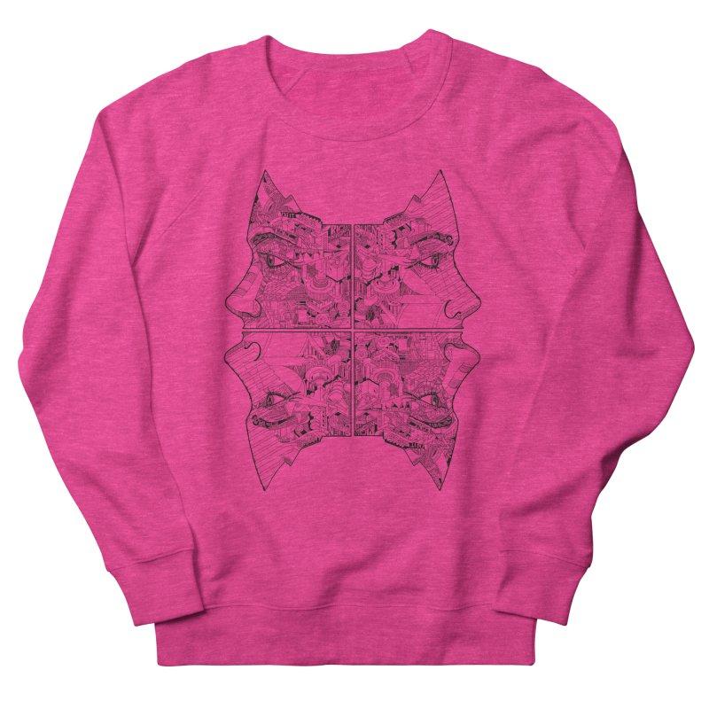 Queens Women's French Terry Sweatshirt by IVAN CASIS APPAREL SHOP