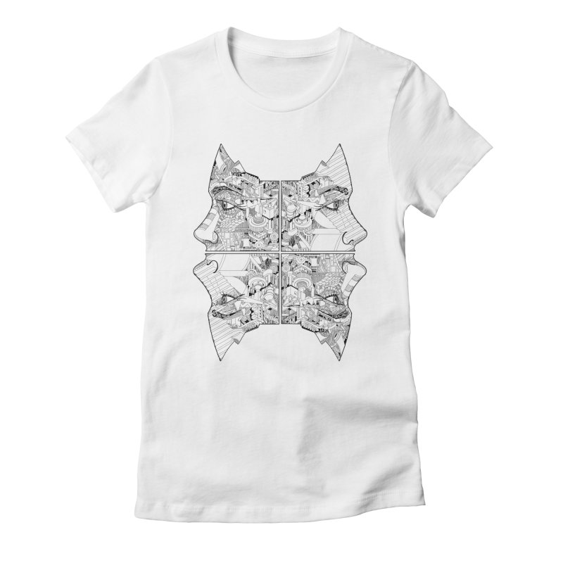 Queens Women's Fitted T-Shirt by IVAN CASIS APPAREL SHOP