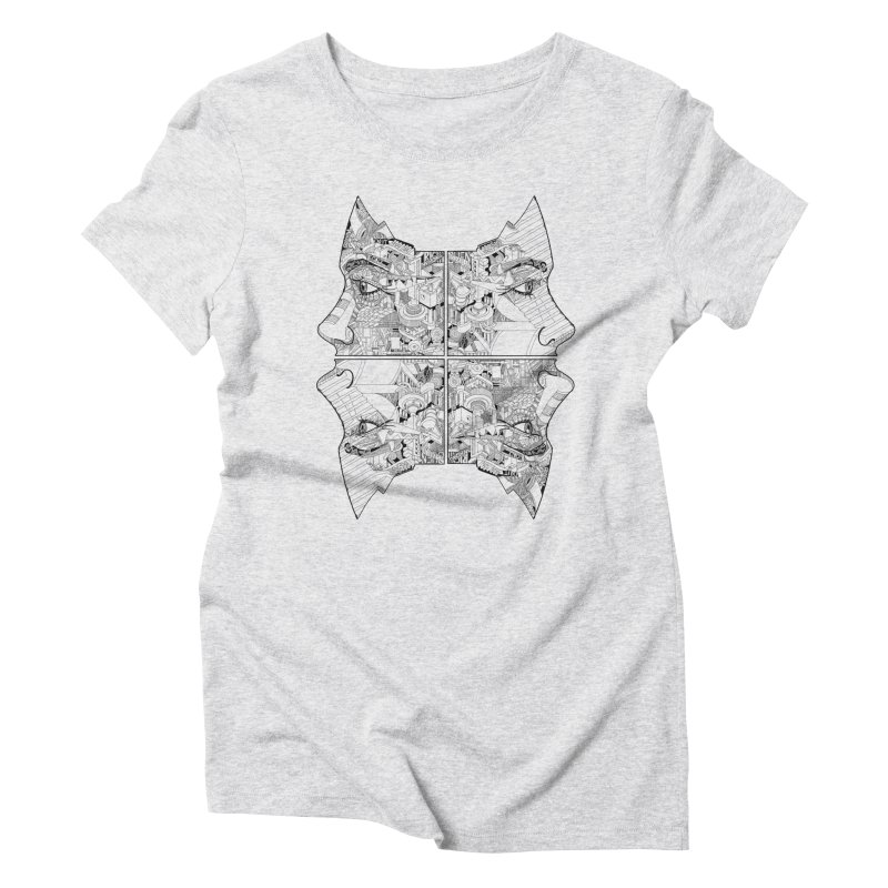 Queens Women's Triblend T-shirt by IVAN CASIS APPAREL SHOP