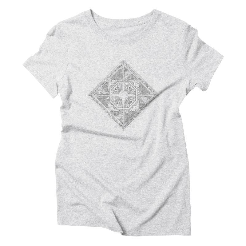 Ellas Women's Triblend T-Shirt by IVAN CASIS APPAREL SHOP