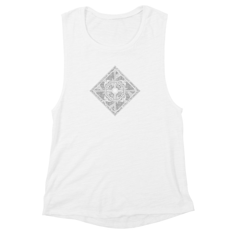 Ellas Women's Muscle Tank by IVAN CASIS APPAREL SHOP